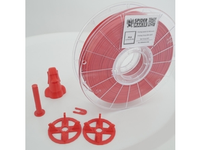 Spool holder accessories for Spidermaker 3D filament
