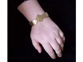 Wonder Woman/Amazonian Inspired Bracelet