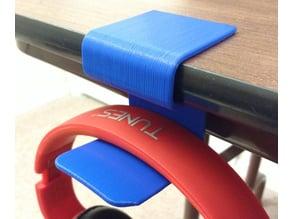 Headphone holder for desk/table
