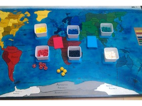 Risk! board game pawns