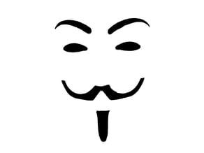 V Vendetta Stencil