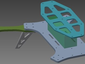"Mini-quad frame for 8"" props (max)"