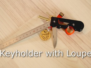 Keyholder with Loupe