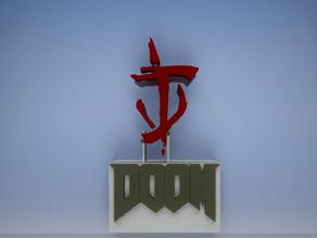 Mark of The Doom Slayer Desk Decoration