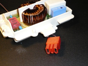 AMP plug 3 pole v3 (2 poles used)