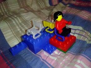 Bauhaus Lego #1: Chair