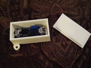 LM-2596 Voltage Regulator Mounting Box w/lid.