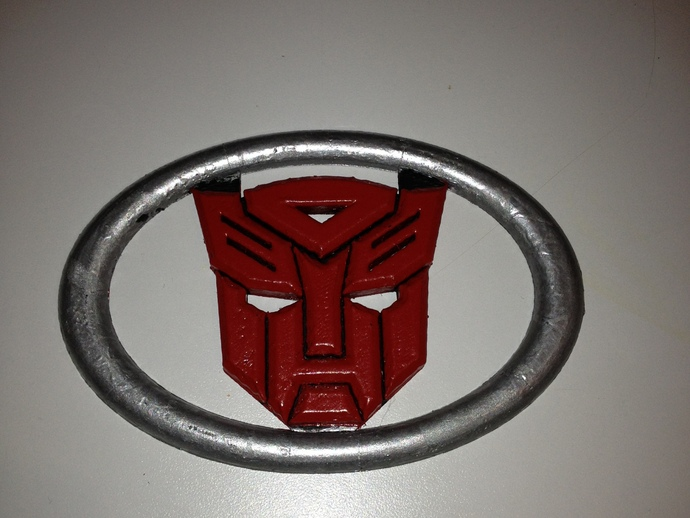 Toyota 4 Runner Autobot Grill by eae01751 - Thingiverse