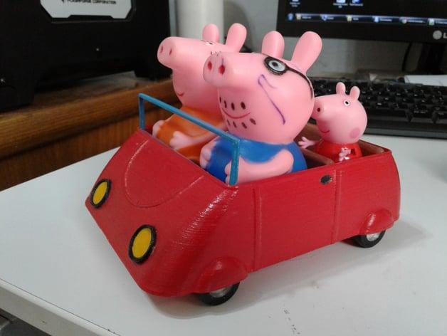 Car Games 2016 >> Peppa Pig - Car by sam5400 - Thingiverse