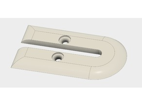 Floor mounted wire protector (7mm)