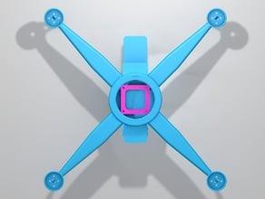 Quadcopter Battery Box & FPV Camera Platform Fusion2