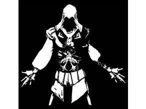 Assassin's creed ezio stencil