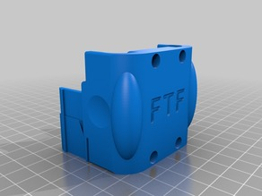 Cube 3 Extruder Hub Clamp
