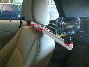 Action Camera Headrest Mount