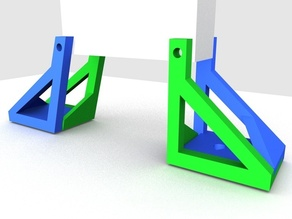 Printable Extruder Holder (MakerBot)