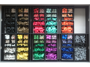 Player Boxes Organizers for Medioevo Universale