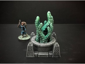 Delving Decor: Scrying Pool Alternate Inserts (28mm/Heroic scale)