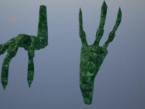 TES:V Skyrim Emerald Dragon Claw