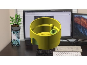 Desktop Aquaponic Planter - Customizable