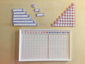 Montessori Addition Board Set