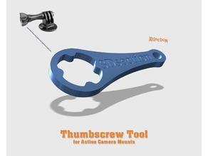 Thumbscrew Tool (for Action Cameras)