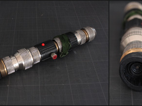 DIY Lightsaber with real steel