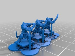 10mm rat monsters for warmaster