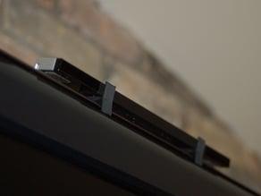 Wii Sensor Bar Mount