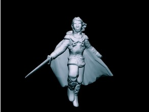 Twilinor, Elvish Champion (32mm scale)