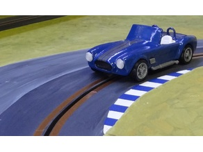 Shelby Cobra static model