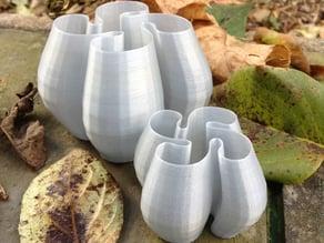 Swirly pot