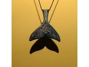 Whale Tale Pendant