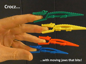 Crocz... Crocodile Clips / Clamps / Pegs with Moving Jaws