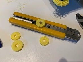 Olfa Box Cutter Thumb Wheel Knob