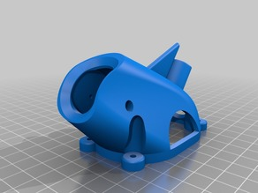 Sharky canopy for AtiX frame