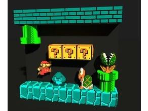 Voxel Mario Underground
