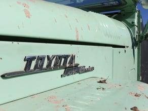 Toyota Land Cruiser Emblem
