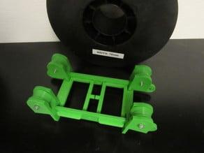 Parametric filament spool holder (easy to print)