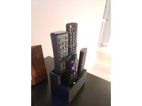 Custom remote holder