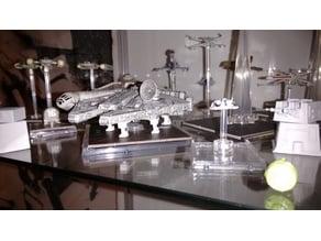 Millenium Falcon Landing Gear for X-Wing Miniature Game