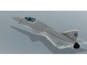 JAS Saab Gripen J-42e 5th generation fighter