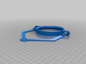 2 Liter bracket with clamps