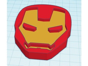 Iron Man Mask (2D)