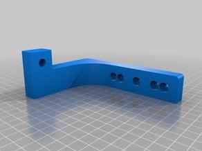 """Small Arm Bracket for """"Little Dipper"""" homebrew SLA 3D printer"""