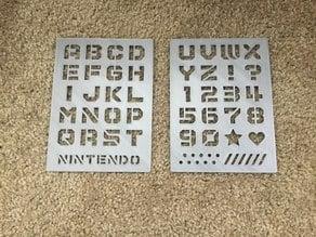Nintendo Labo Stencils
