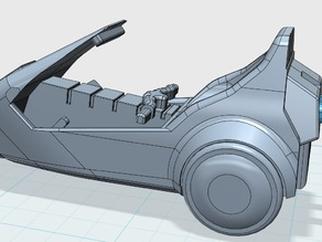 Sinclair C5 Keyring
