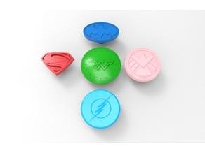 superhero stove knobs