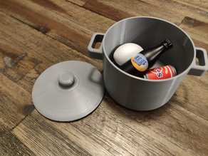 Kitchen Toys: Toy Cooking Pot with Lid