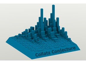 Collatz Conjecture Towers