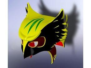 Hawk Girl Mask & Mace